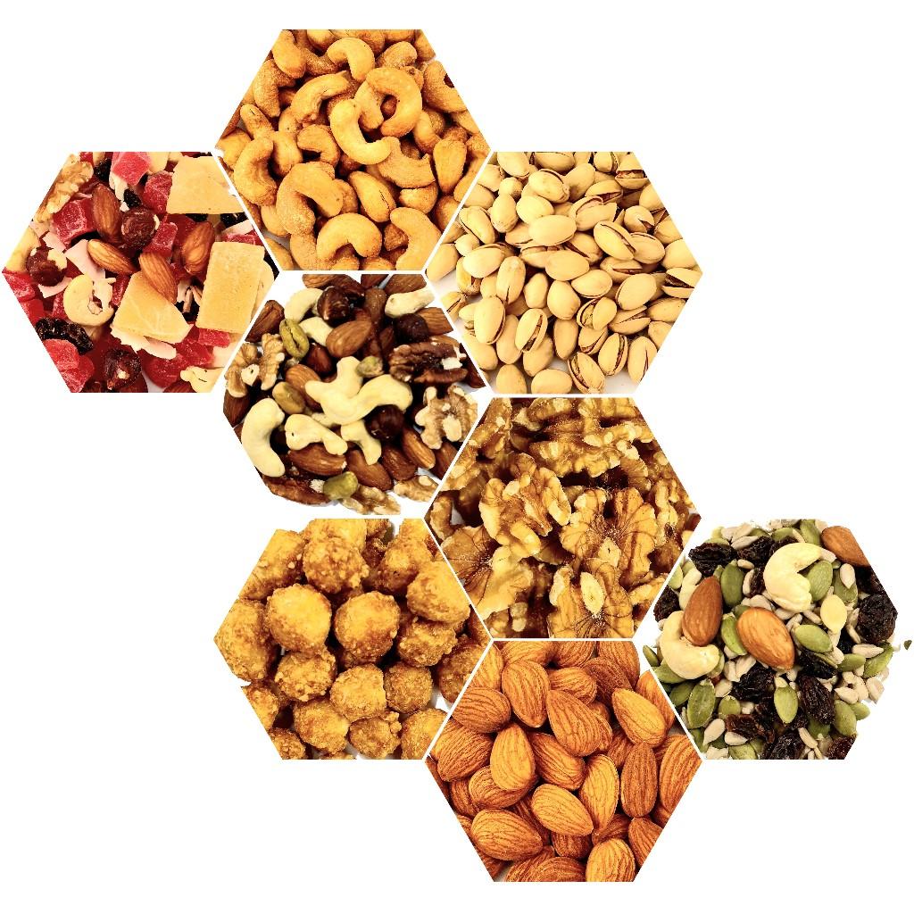 Nuts, Dried Fruit & Snacks